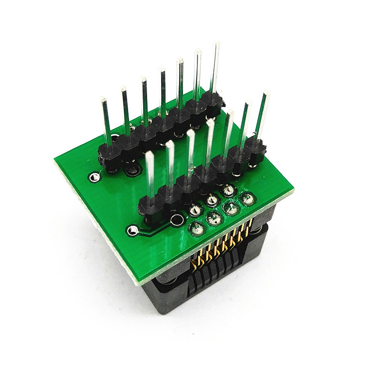 SOP14-SOIC14-SO14 Socket OTS14(16)-1.27-03 Socket SOP14(3.9)-1.27 Socket High quality IC Test & burn-in socket for SOP14/SOIC14/SO14 package 129