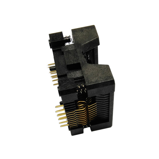 SOP18-SOIC18-SO18 Socket OTS18(28)-1.27-04 Socket SOP18(7.5)-1.27 Socket High quality IC Test & burn-in socket for SOP18/SOIC18/SO18 package 113