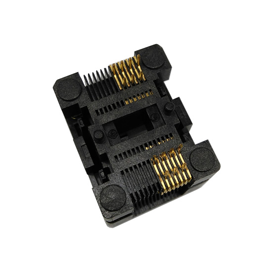 SSOP14-TSSOP14 Socket OTS14(28)-0.65-01 Socket SSOP14(4.4)-0.65 Socket High quality IC Test & burn-in socket for SSOP14/TSSOP14 package 118