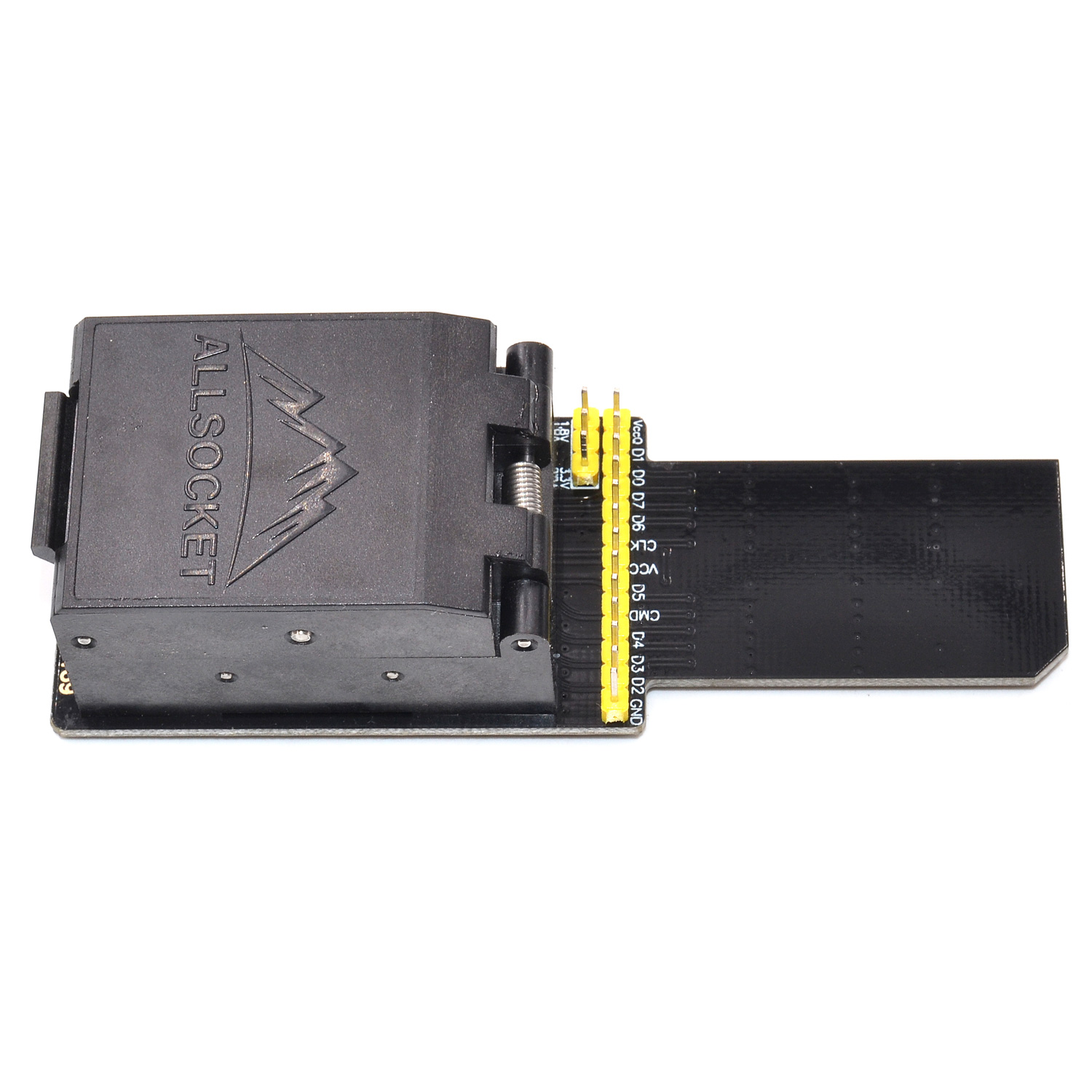 eMCP-BGA/eMCP221 Socket eMCP221 reader Socket DS3000-SD-emcp221 Socket High quality IC eMCP221 reader for eMCP/BGA/eMCP221 package 12